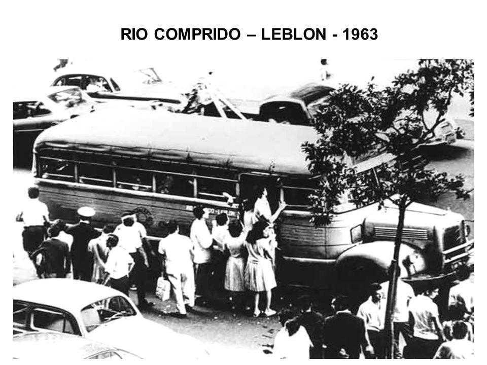 RIO COMPRIDO – LEBLON - 1963