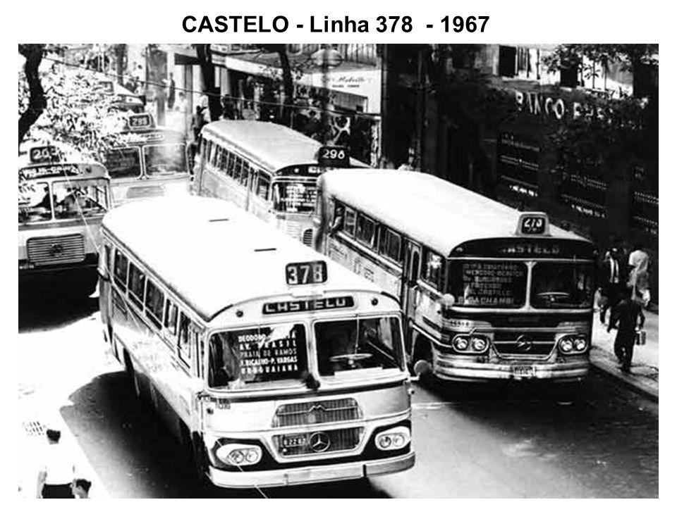 CASTELO - Linha 378 - 1967