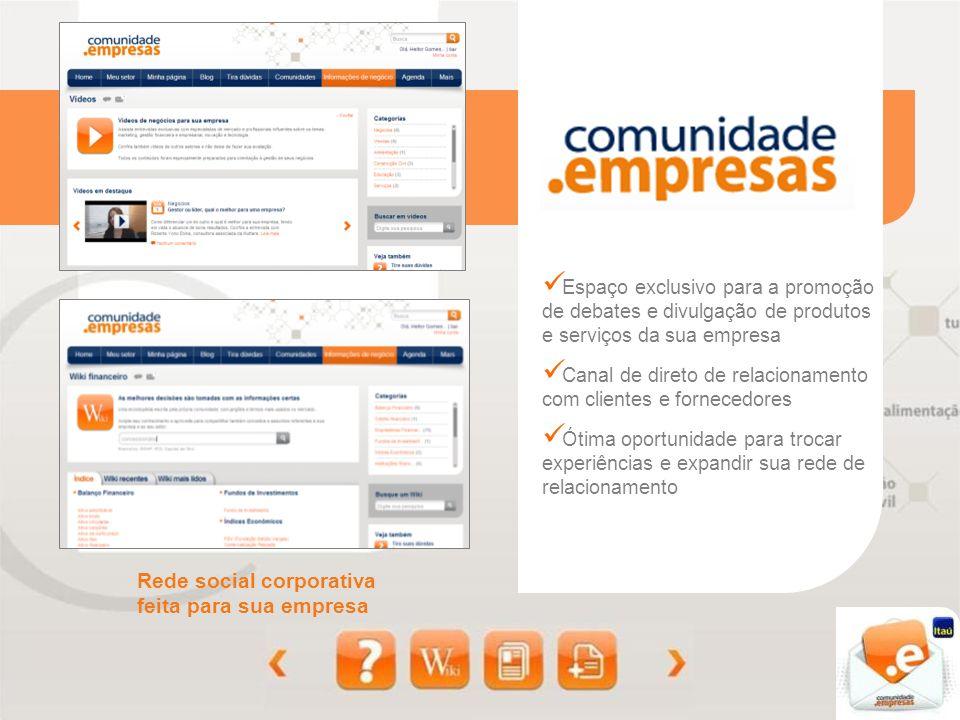 Rede social corporativa feita para sua empresa