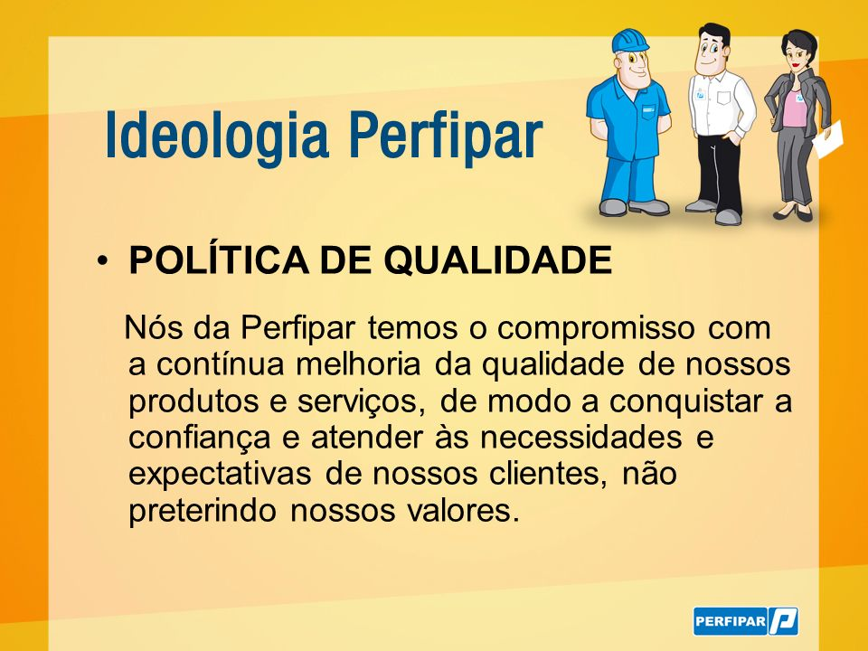 POLÍTICA DE QUALIDADE