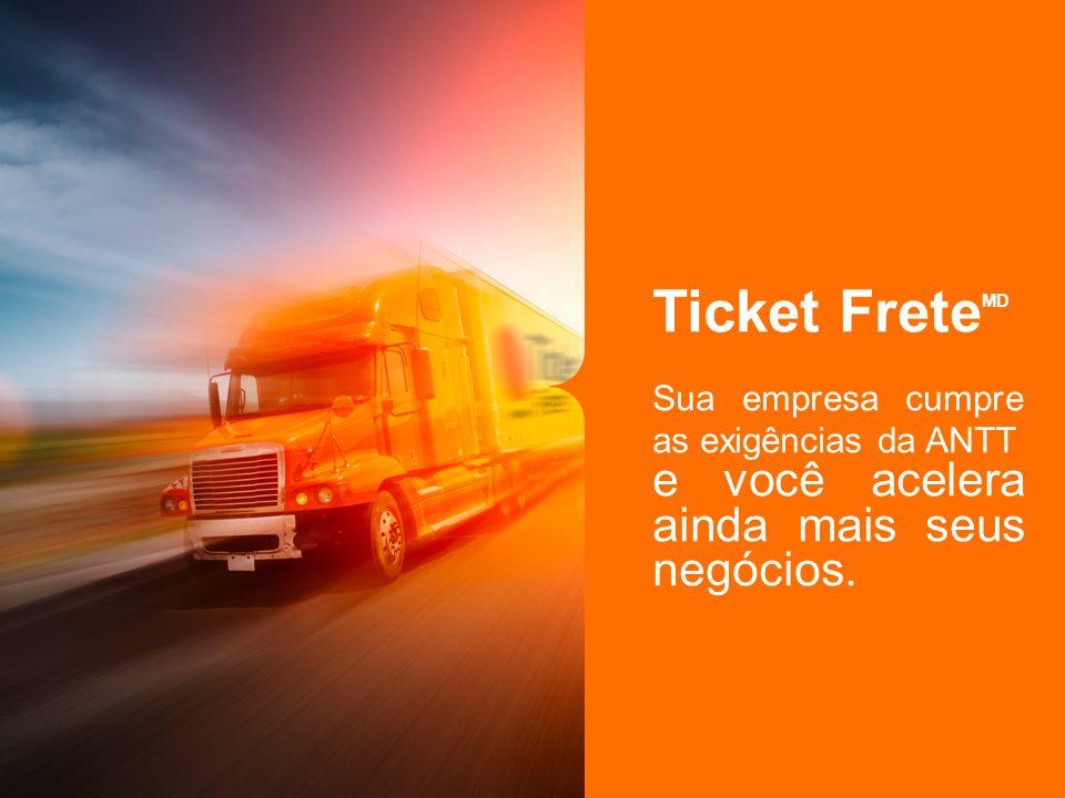 Ticket FreteMD e você acelera ainda mais seus negócios.