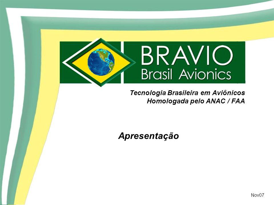 Apresentação Tecnologia Brasileira em Aviônicos