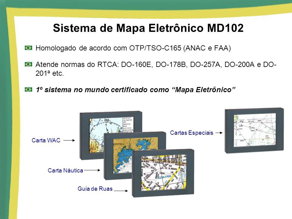 Sistema de Mapa Eletrônico MD102