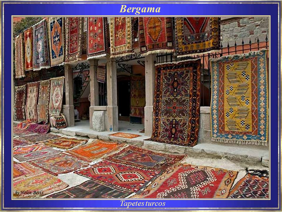 Bergama Tapetes turcos