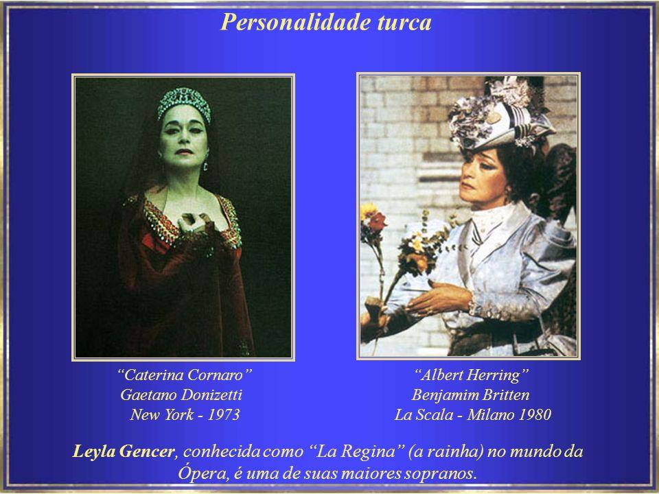 Personalidade turca Caterina Cornaro Gaetano Donizetti. New York - 1973. Albert Herring Benjamim Britten.