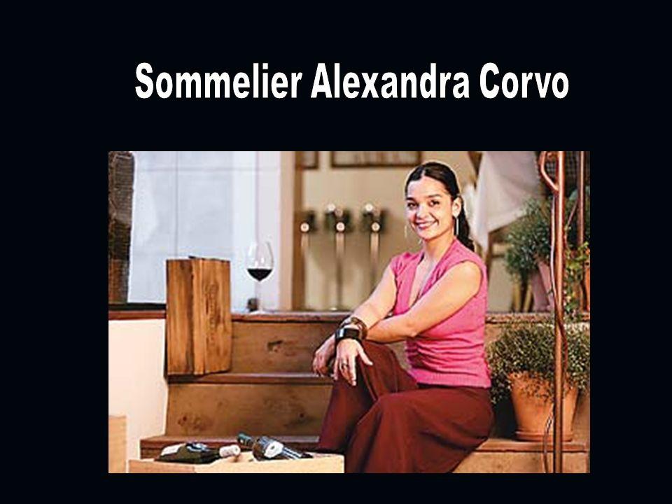 Sommelier Alexandra Corvo