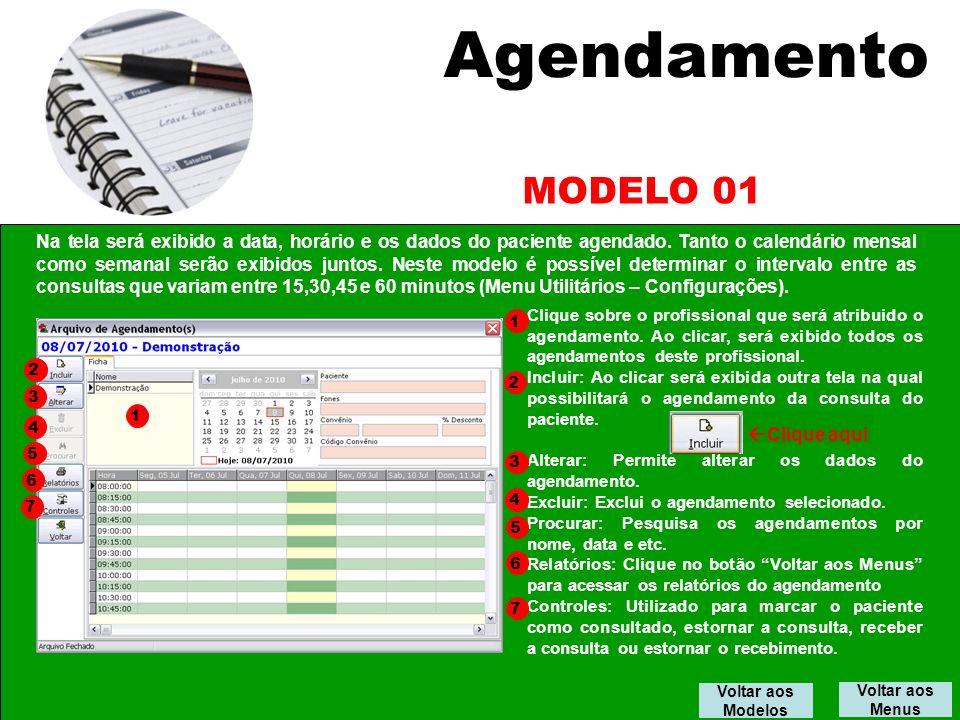 Agendamento MODELO 01.