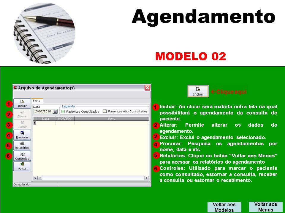 Agendamento MODELO 02 Clique aqui