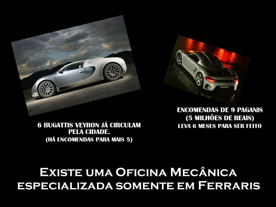 Existe uma Oficina Mecânica especializada somente em Ferraris