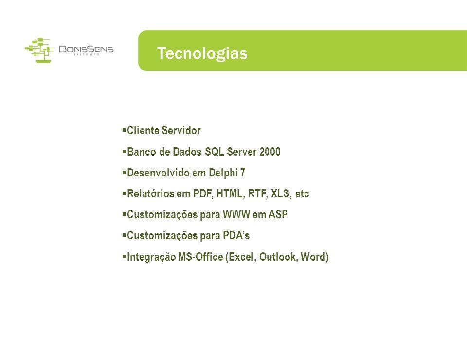 Tecnologias Cliente Servidor Banco de Dados SQL Server 2000