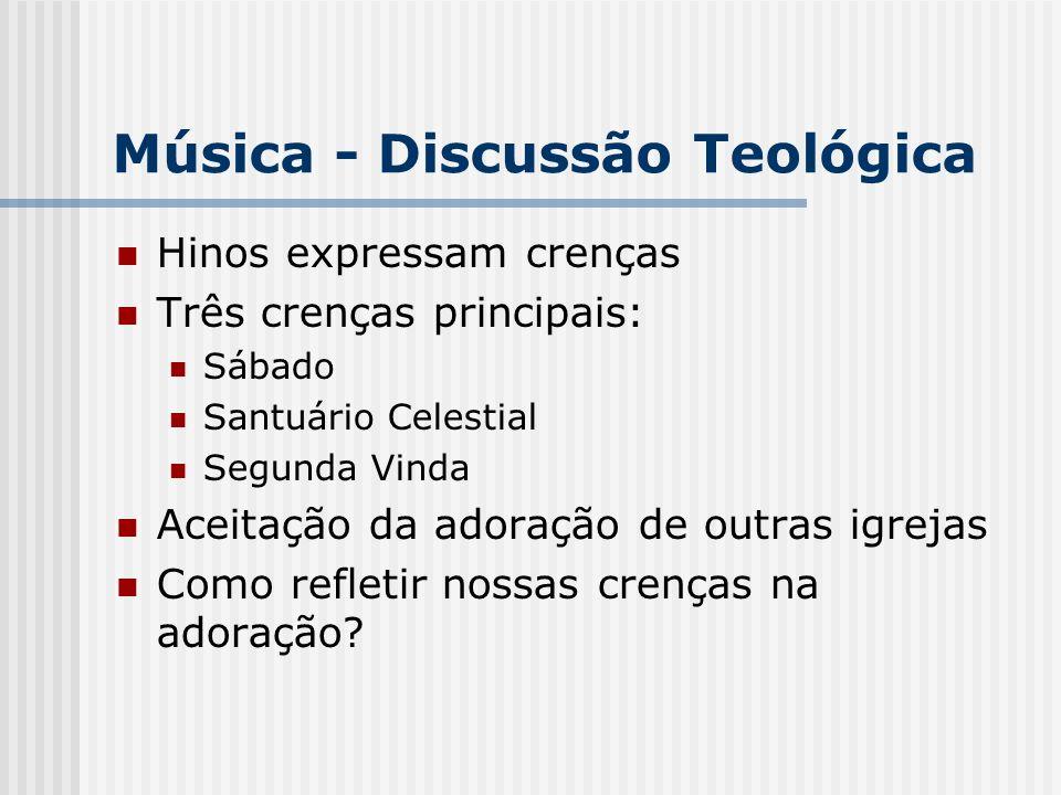 Música - Discussão Teológica