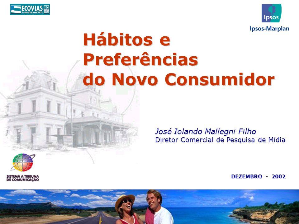 Hábitos e Preferências do Novo Consumidor José Iolando Mallegni Filho