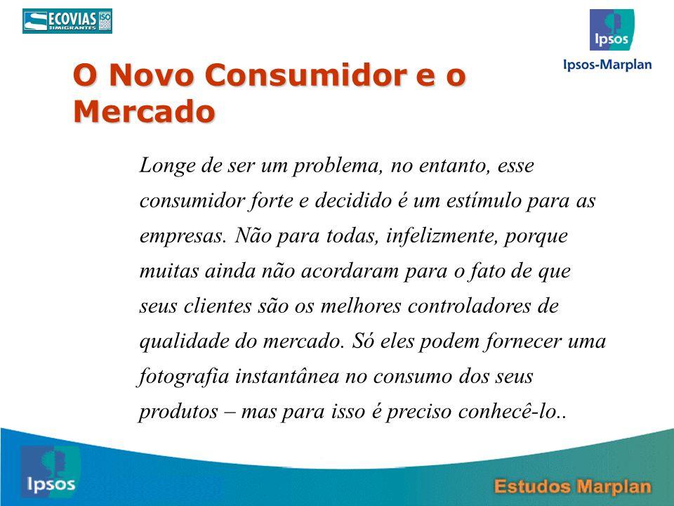 O Novo Consumidor e o Mercado