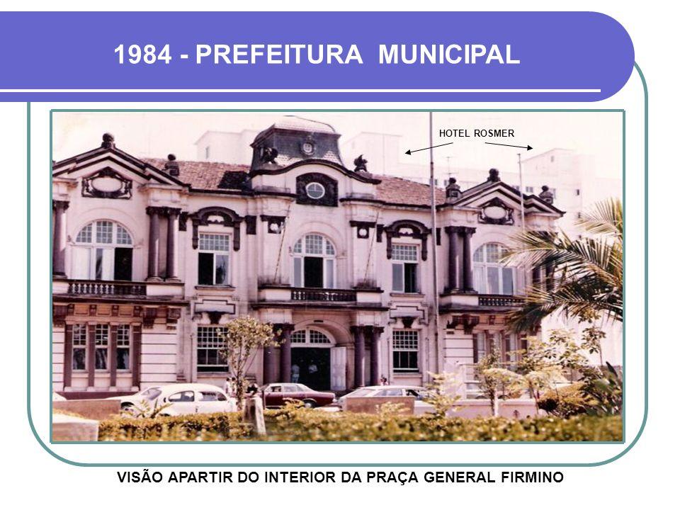 1984 - PREFEITURA MUNICIPAL