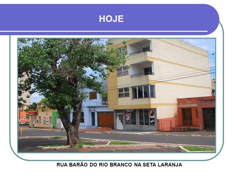 RUA BARÃO DO RIO BRANCO NA SETA LARANJA