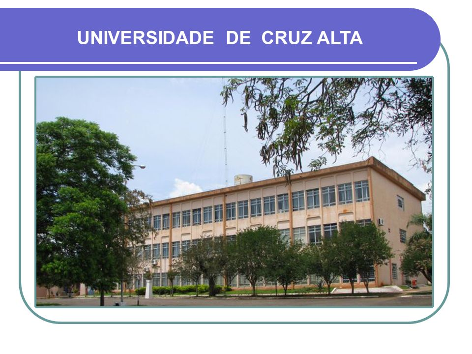 UNIVERSIDADE DE CRUZ ALTA