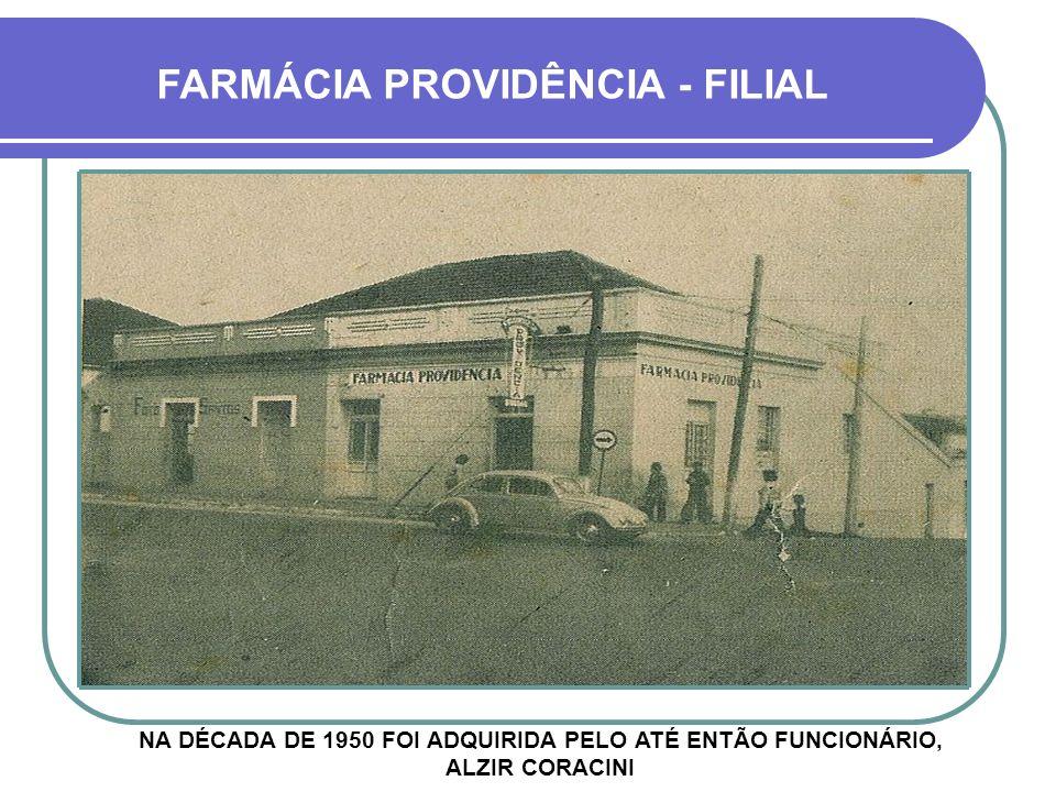 FARMÁCIA PROVIDÊNCIA - FILIAL