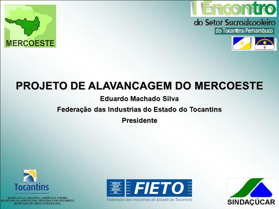 PROJETO DE ALAVANCAGEM DO MERCOESTE