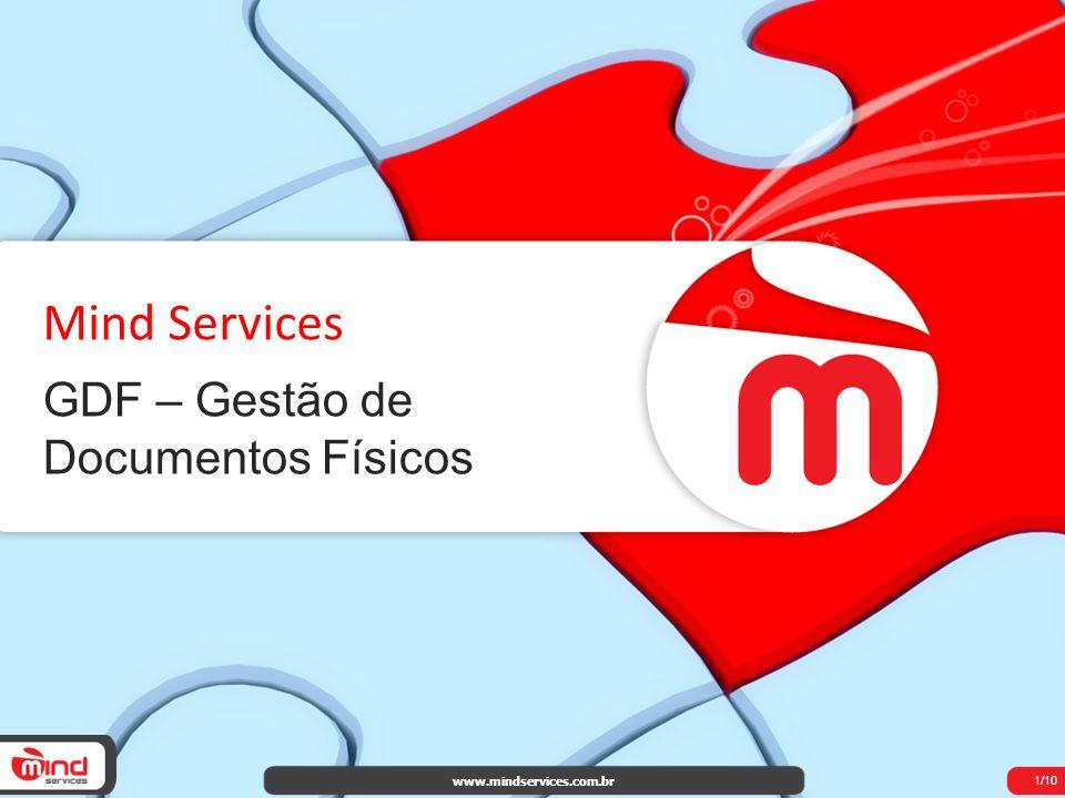 Mind Services GDF – Gestão de Documentos Físicos