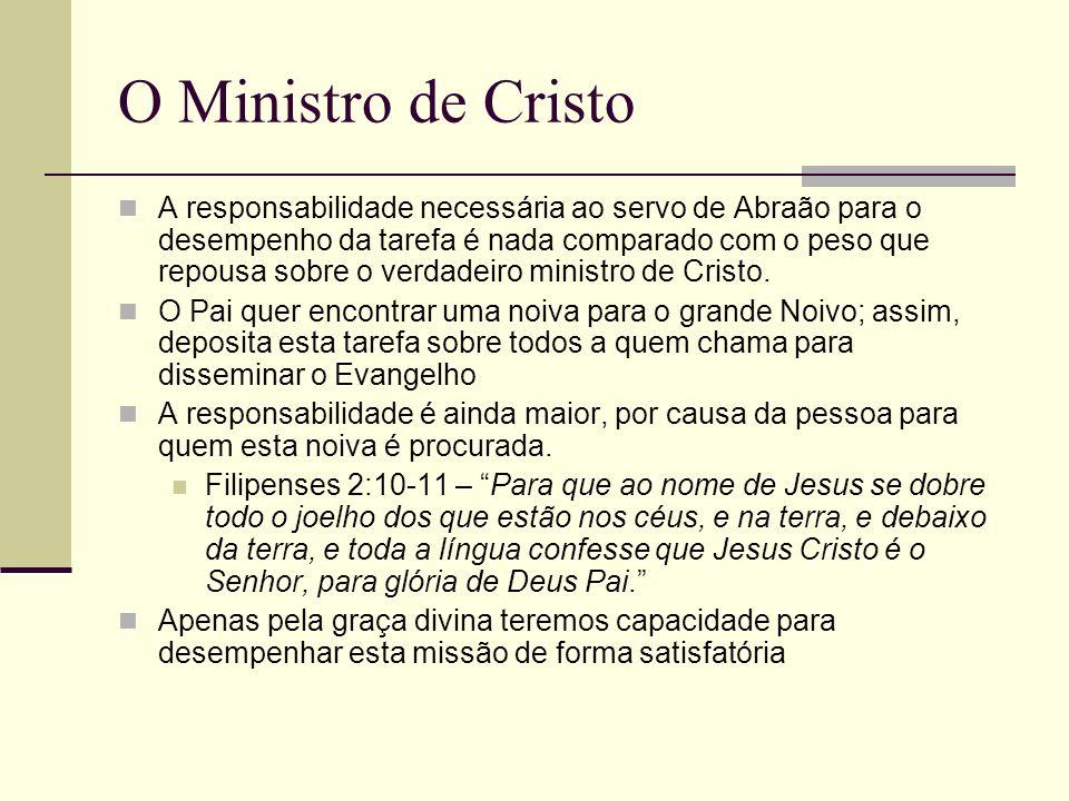 O Ministro de Cristo
