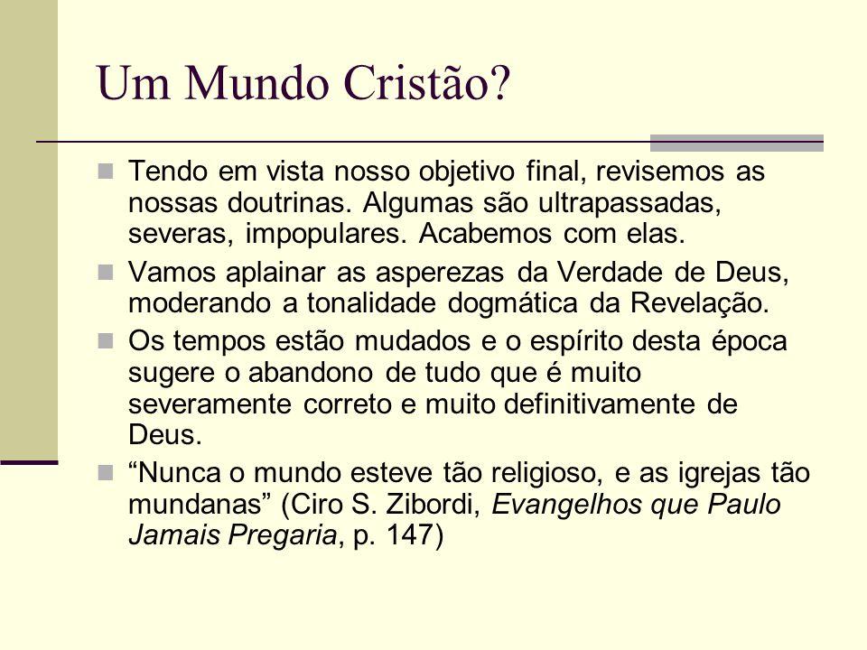 Um Mundo Cristão