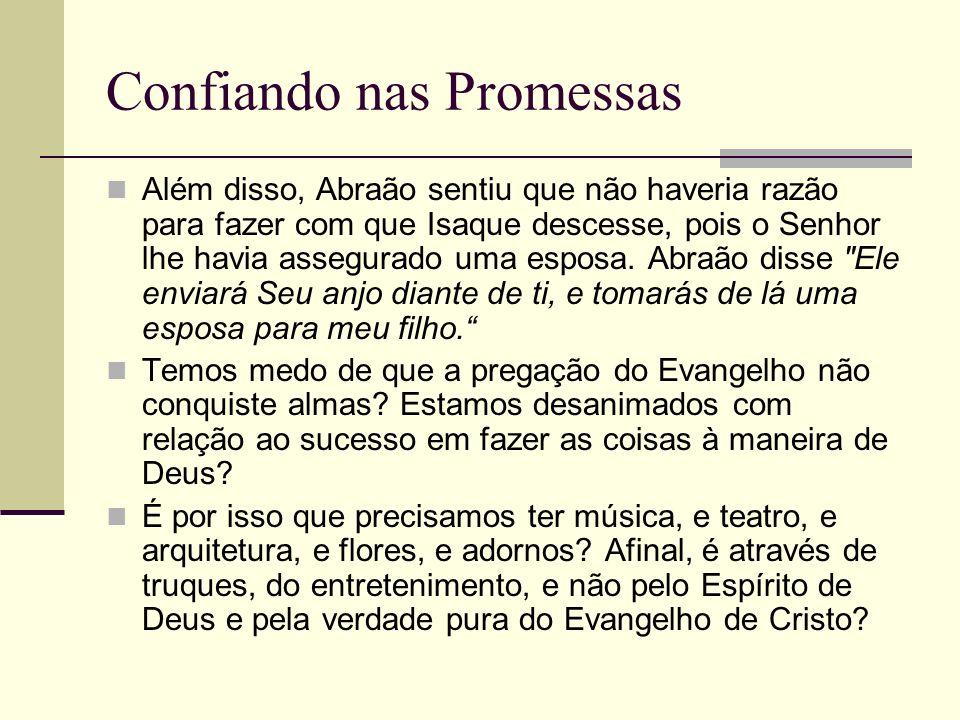 Confiando nas Promessas