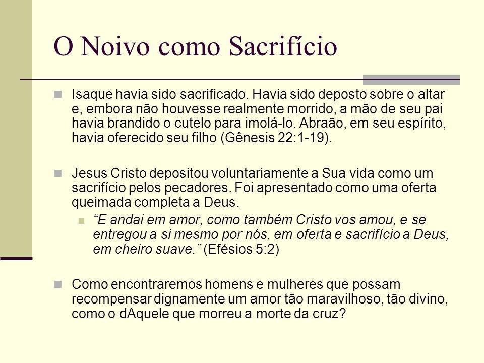 O Noivo como Sacrifício