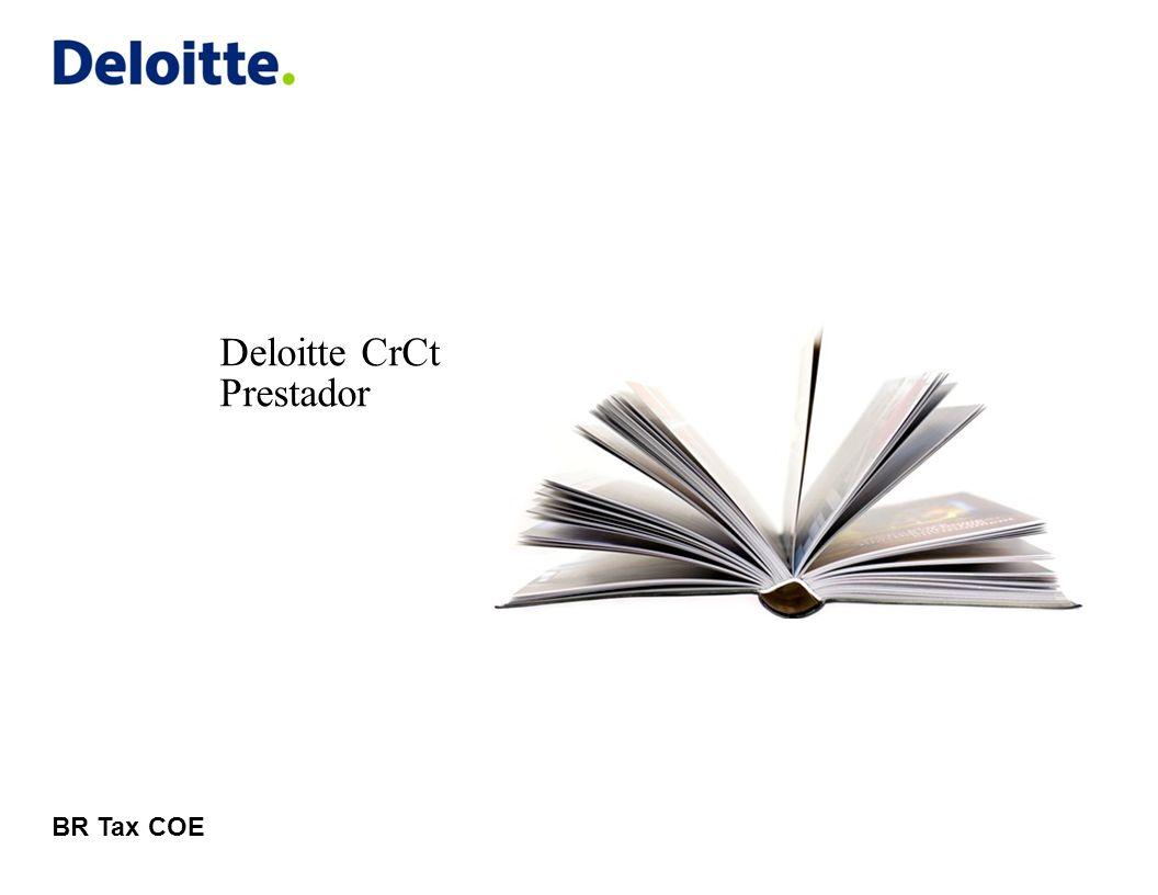 Deloitte CrCt Prestador