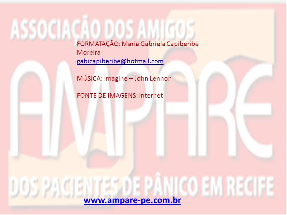 www.ampare-pe.com.br FORMATAÇÃO: Maria Gabriela Capiberibe Moreira