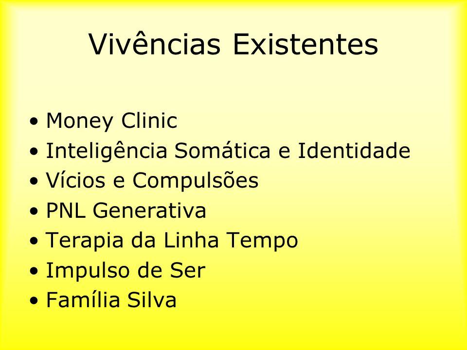 Vivências Existentes Money Clinic Inteligência Somática e Identidade
