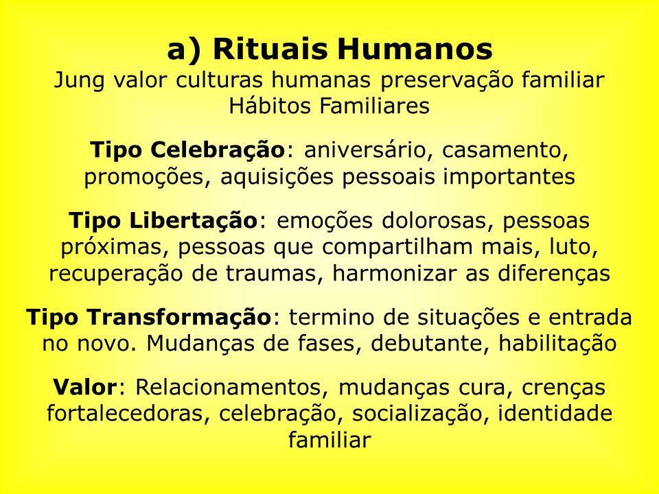 Jung valor culturas humanas preservação familiar