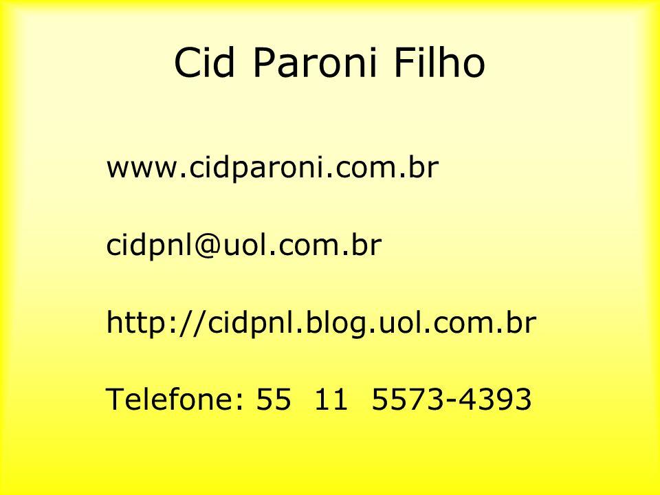 Cid Paroni Filho www.cidparoni.com.br cidpnl@uol.com.br