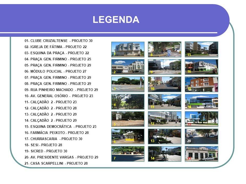 LEGENDA 01- CLUBE CRUZALTENSE - PROJETO 30