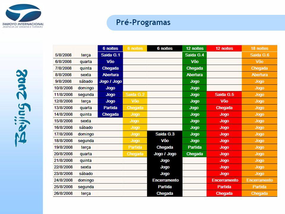 Pré-Programas