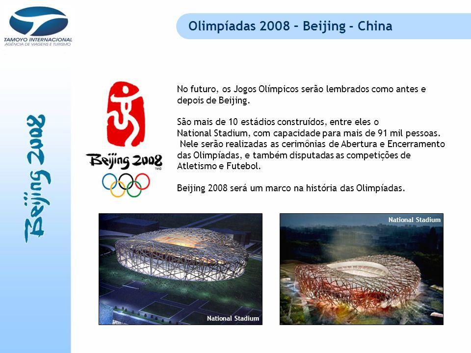 Olimpíadas 2008 – Beijing - China