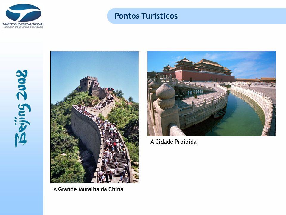 Pontos Turísticos A Cidade Proibida A Grande Muralha da China