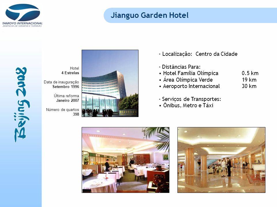 Jianguo Garden Hotel Localização: Centro da Cidade - Distâncias Para: