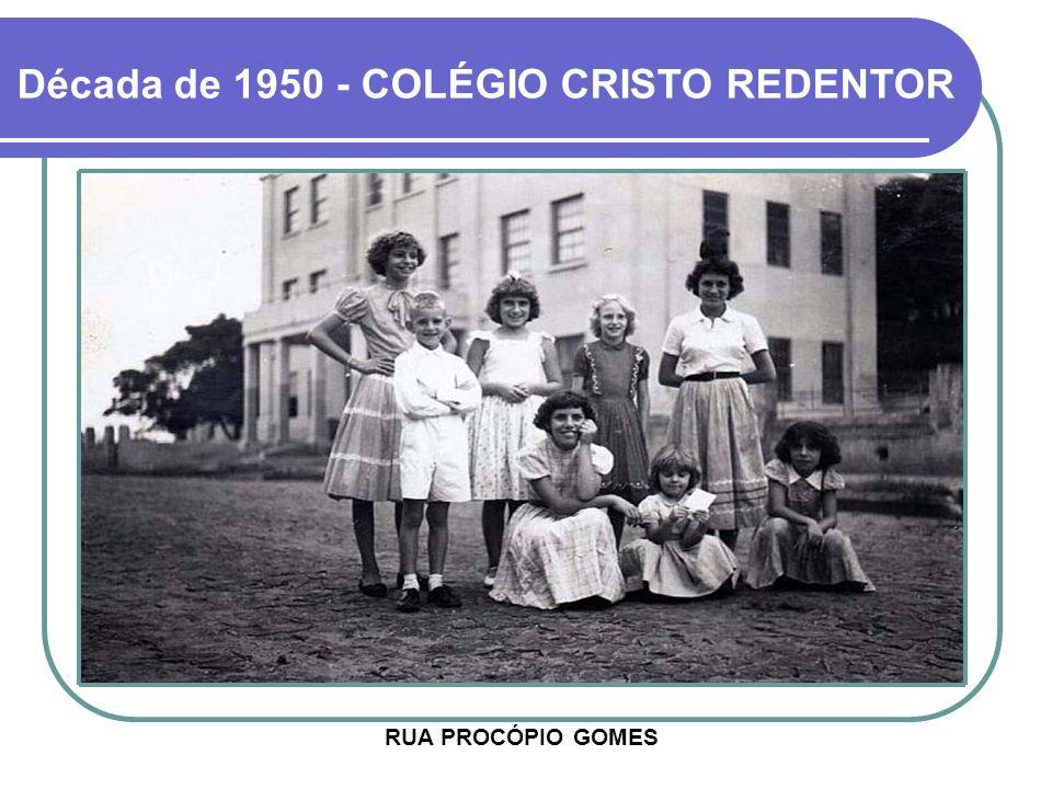 Década de 1950 - COLÉGIO CRISTO REDENTOR
