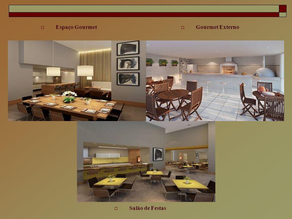 Espaço Gourmet Gourmet Externo Salão de Festas