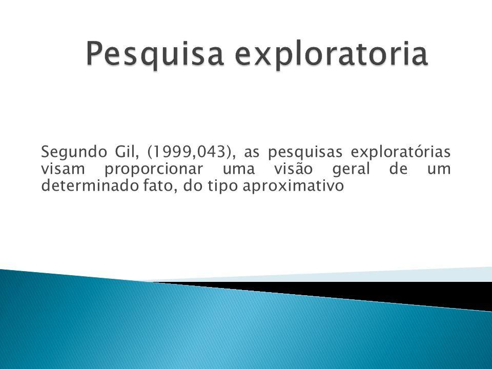 Pesquisa exploratoria