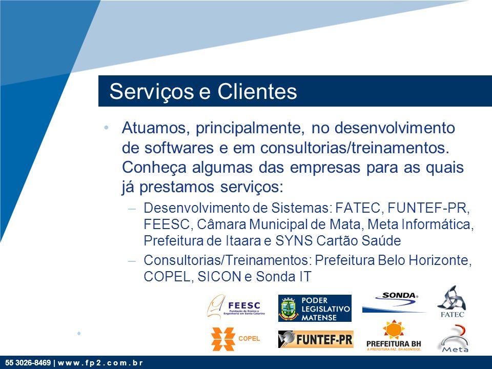 Serviços e Clientes