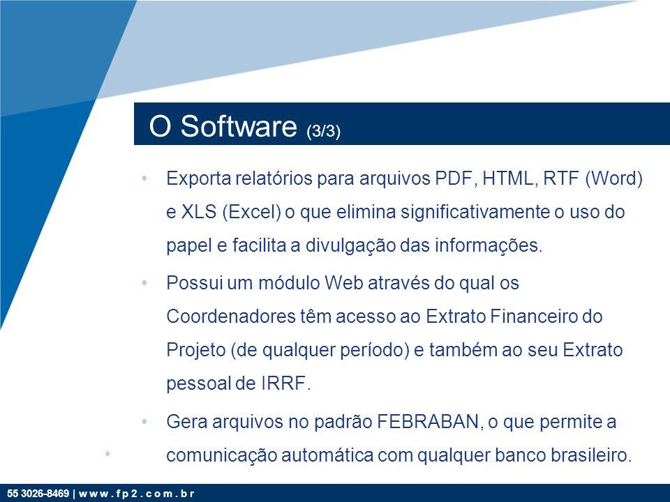 O Software (3/3)