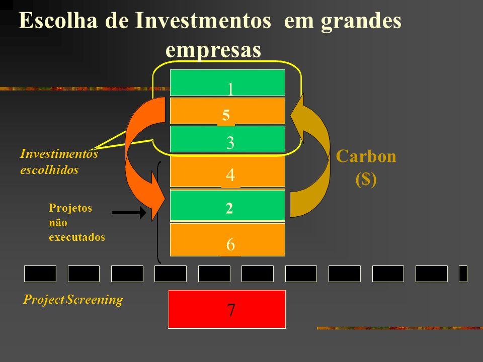 Escolha de Investmentos em grandes