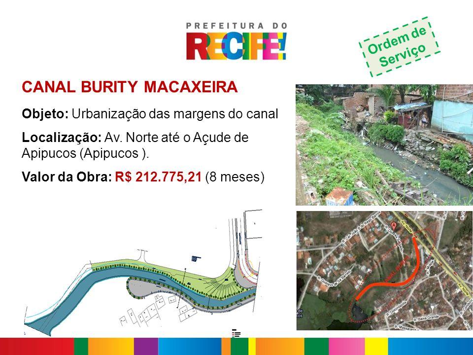 CANAL BURITY MACAXEIRA
