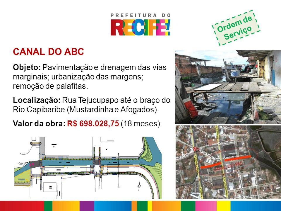CANAL DO ABC Ordem de Serviço