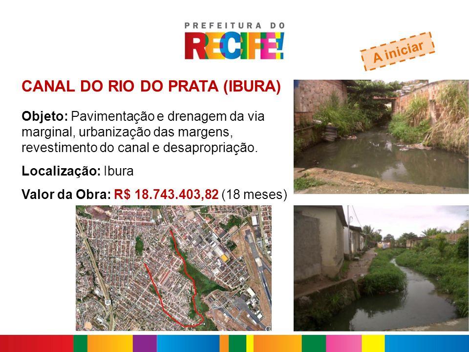 CANAL DO RIO DO PRATA (IBURA)