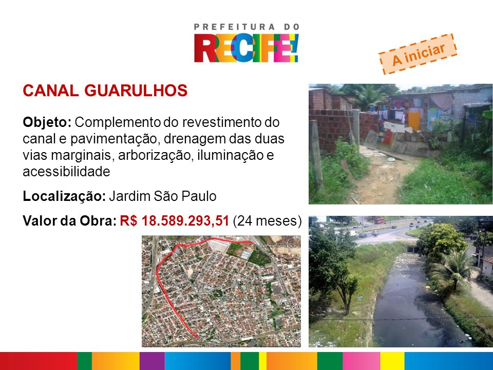 CANAL GUARULHOS A iniciar