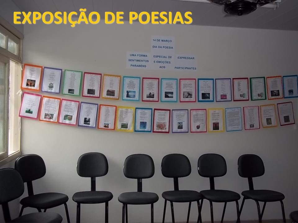 EXPOSIÇÃO DE POESIAS