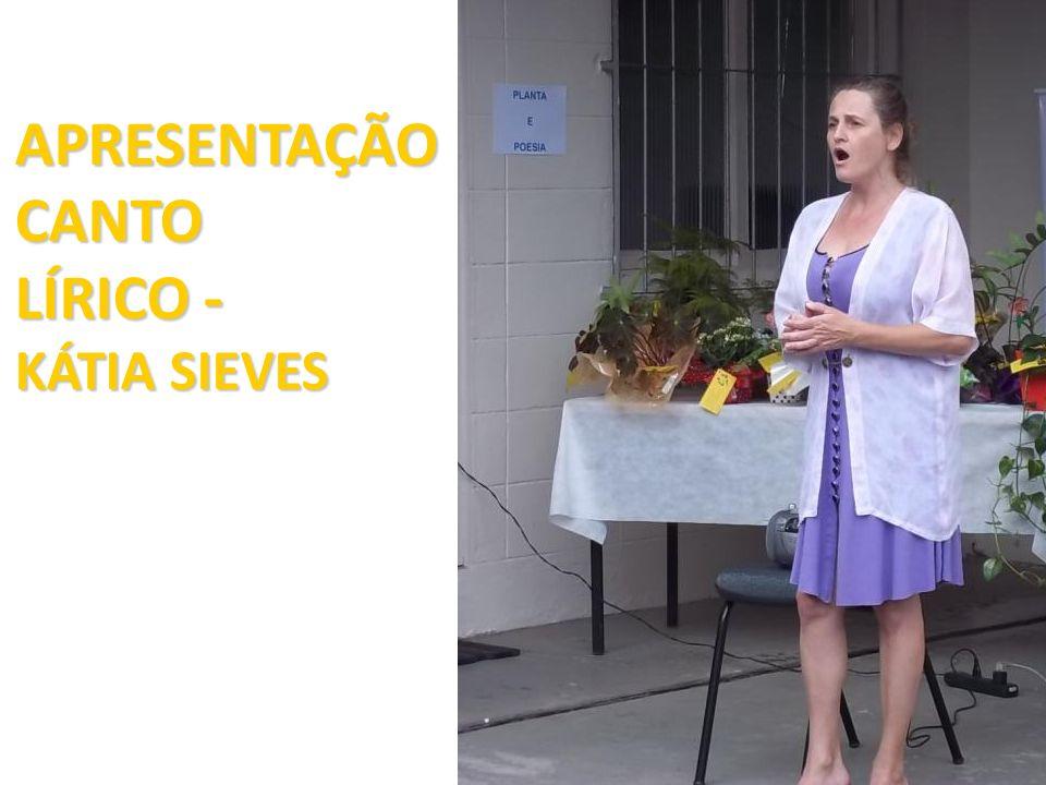 APRESENTAÇÃO CANTO LÍRICO - KÁTIA SIEVES