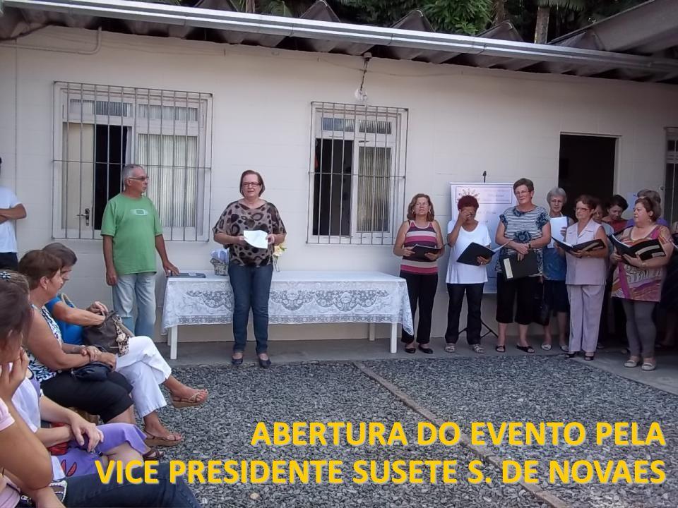 ABERTURA DO EVENTO PELA